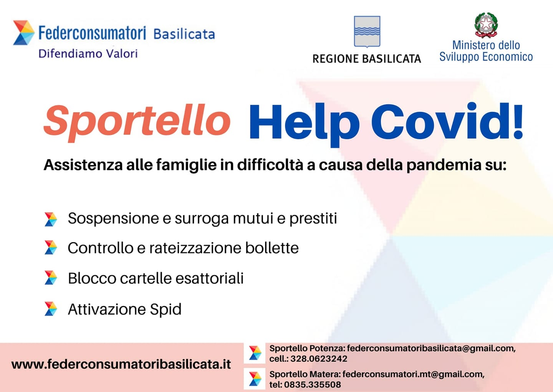 """SPORTELLO """"HELP COVID!"""""""