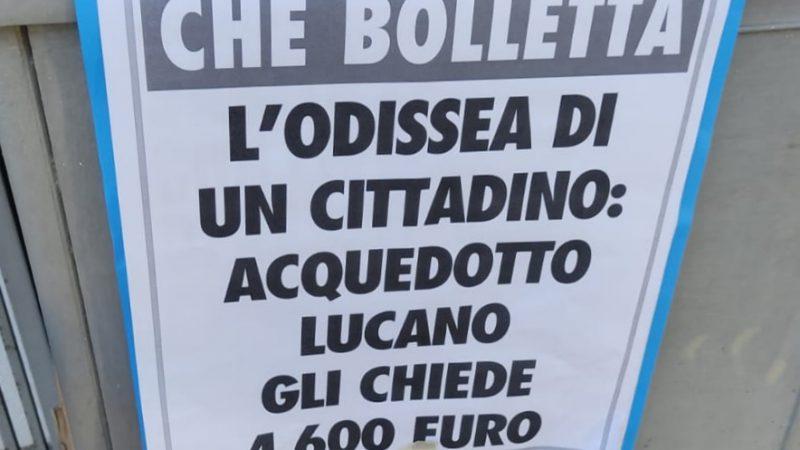 L'ODISSEA DI UN CONSUMATORE CON ACQUEDOTTO LUCANO
